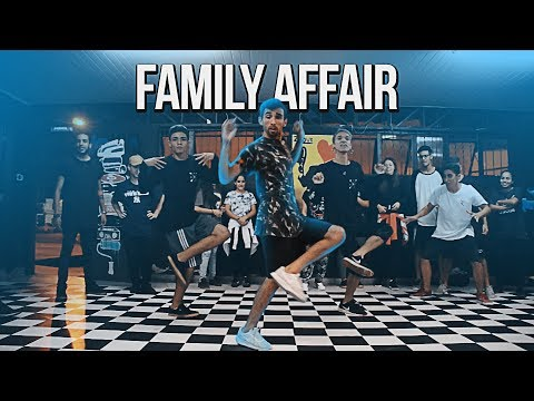 FAMILY AFFAIR  Mary J Blige Dance FREESTEP Remix  Choreography Guiigs