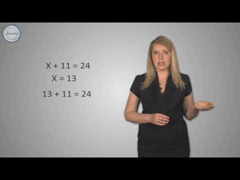 Как найти корень уравнения 5 класс
