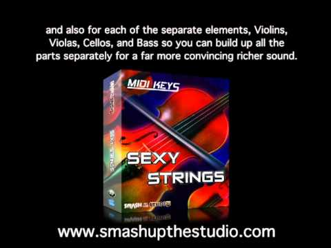 Sexy strings midi loops for disco house music youtube for House music midi