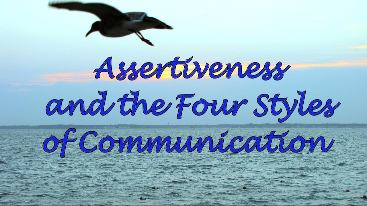 Assertiveness and the Four Styles of Communication