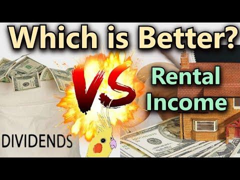 Dividend Income VS Rental Income - Which Passive Income is Better?