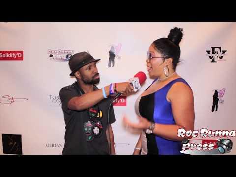 Big Vegg Interviews Brown Starr @ The Miss Fashion Week Jersey City
