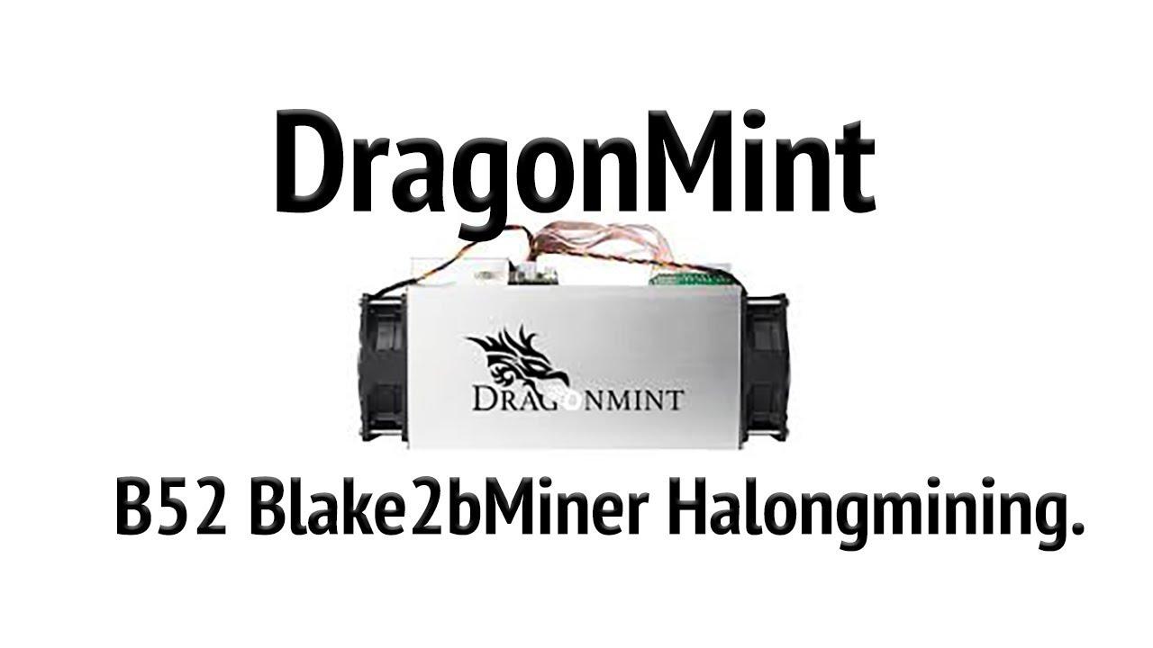 DragonMint B52 Blake2b Miner Just released Halongmining  Antminer A3 vs  DragonMint B52 Blake2b