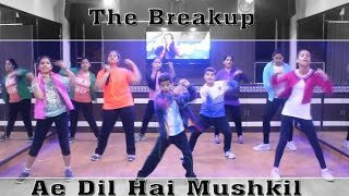 The Breakup Song Dance Performance | Ranbir Kapoor | Easy Bollywood Steps | Dance Choreography