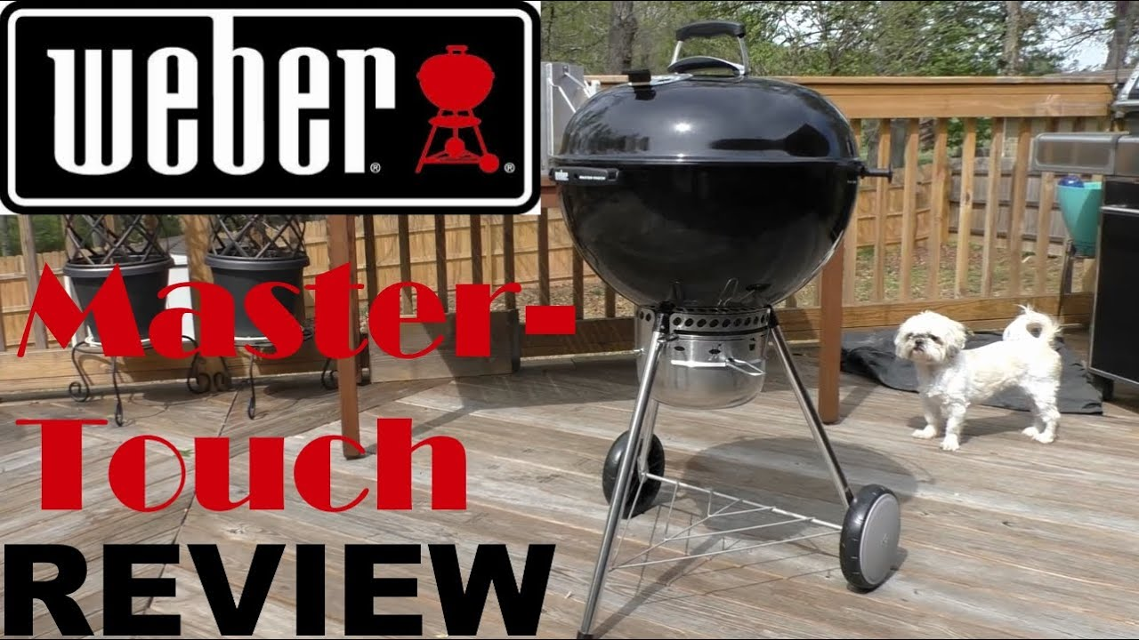 weber master touch grill unboxing review youtube. Black Bedroom Furniture Sets. Home Design Ideas