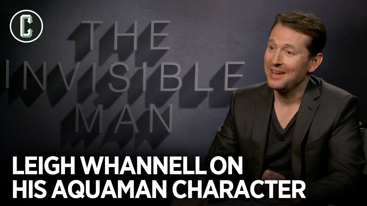 Leigh Whannell Reveals What Happened to His 'Aquaman' Character