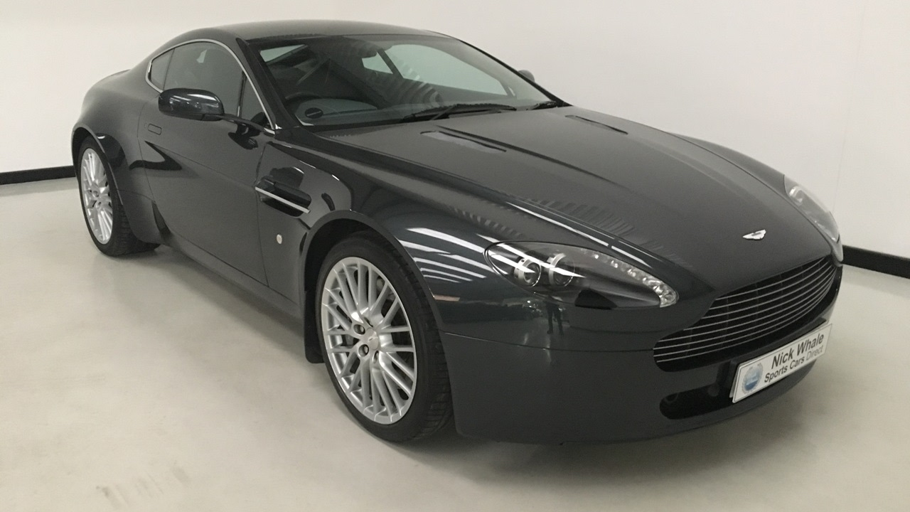 For Sale   Aston Martin Vantage 4.7V8 Sportshift Coupe  Tempest Blue   Nick  Whale Sports Cars