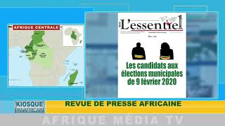 KIOSQUE PANAFRICAIN DU 19 12 2019