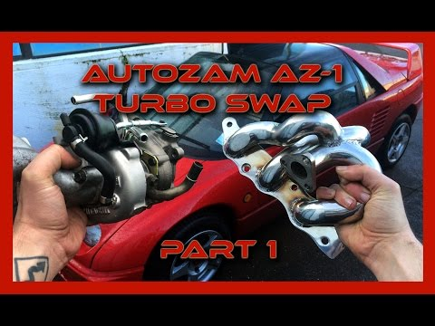Autozam AZ-1 Turbo Swap: Part 1
