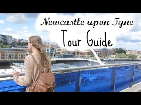 VLOG - Newcastle Tour Guide | ThatQuirkyGirl