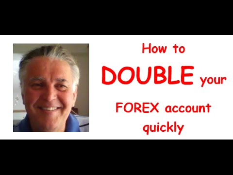Double your forex account daily