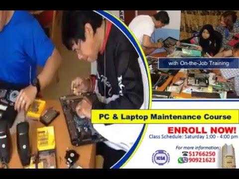 PC & LAPTOP MAINTENANCE COURSE