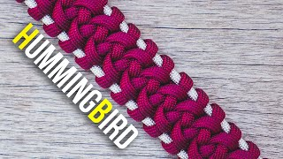 Hummingbird Paracord Bracelet TUTORIAL | No Buckles