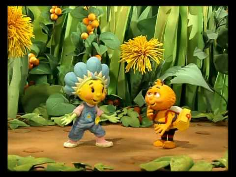 Fifi en bloemenvriendjes - De grote vliegwedstrijd