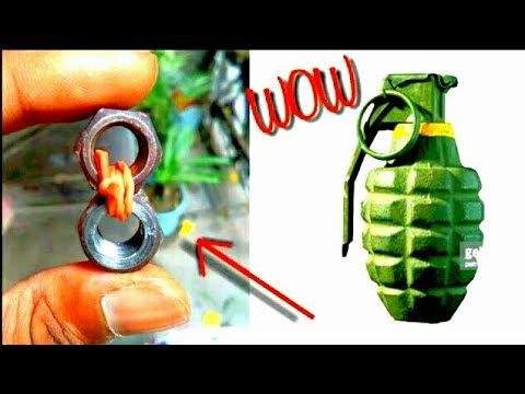 How to make a simple hand grenade at home