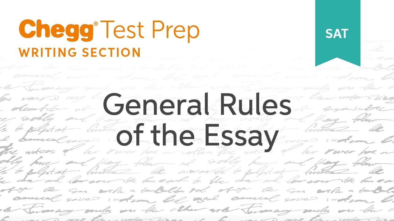sat writing section rules The sat writing section consists of three distinct sections: this is a common rule tested on the sat it is likely that the test will include a sentence like.