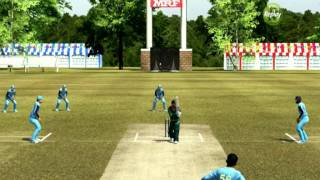 Brian Lara international Cricket 2007( PC Gameplay ) - India Vs Pakistan Part - 1
