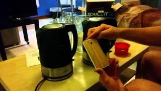 Чайник Scarlett SC-1020 обзор