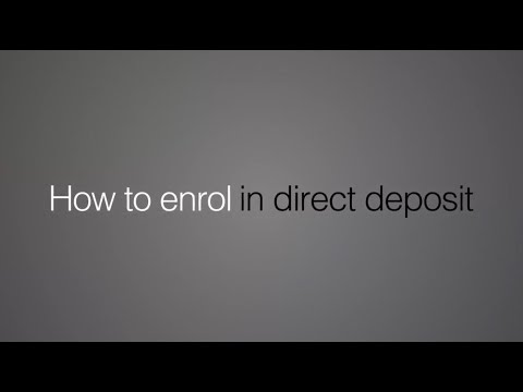 How To Enrol In Direct Deposit For Your Government Of Canada Payments