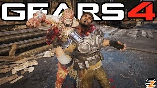 Gears of War 4 Executions - All Executions! (Multiplayer Gameplay)