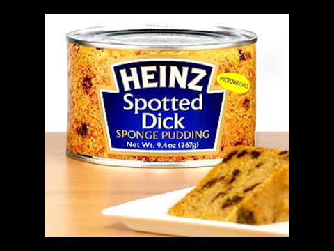 spotted dick food heinz