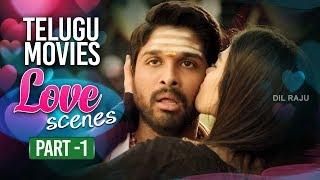 Telugu Movies Best Love Scenes Part 1 | Back to Back Love Scenes Vol 1