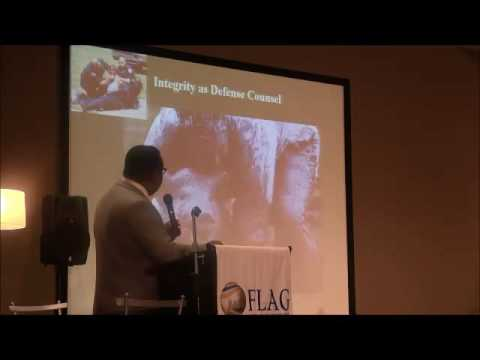 FLAG 2016 Integrity as a Defense Counsel by Eric Davis