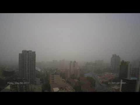 Beijing Sandstorm Clearing
