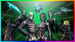 """LEAKED """"Skull Trooper, Hollowhead - Plus!"""" NOUVEAU Skins légendaires à Fortnite: Battle Royale SEASON 6!"""