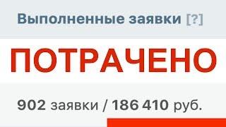 Заработок на паблике вк / ПОТЕРЯЛ 200 000 РУБЛЕЙ