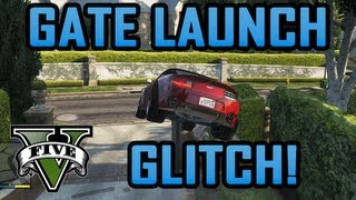 Gta V - Gate Launch Glitch! (gta Iv's Swing Set Glitch Returns)