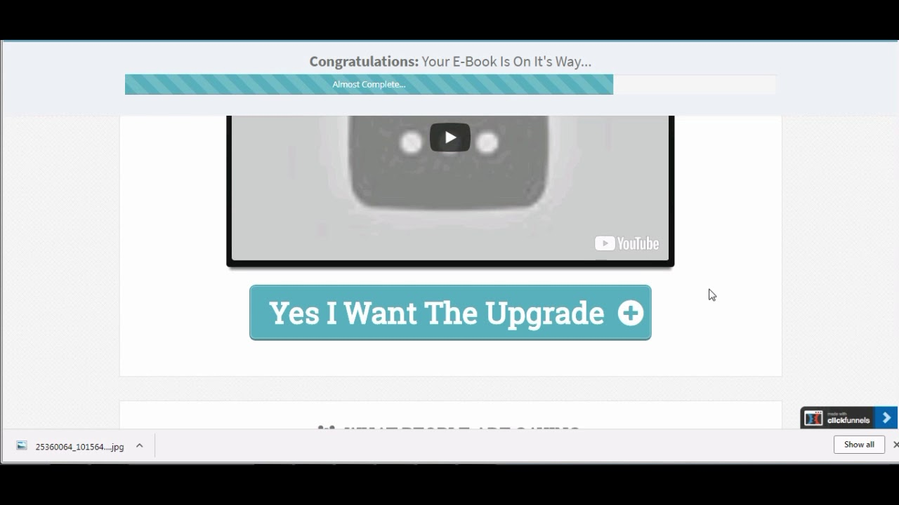 Trip Wire Funnel - YouTube