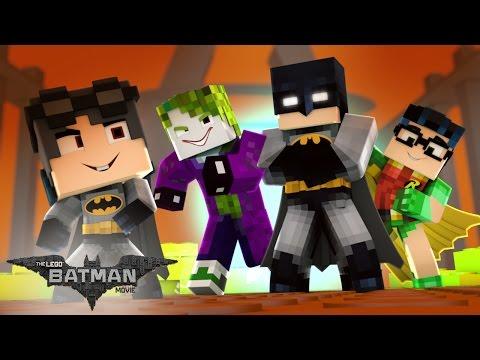 Minecraft: Who's Your Family? - A FAMÍLIA DO LEGO BATMAN ( The Lego Batman )