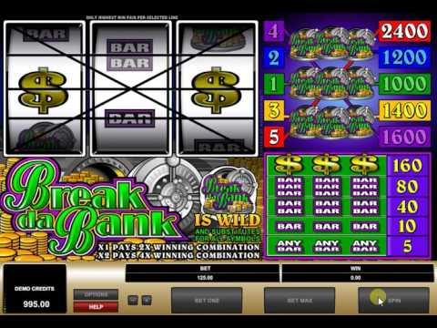 Видео Игровой автомат ограбление
