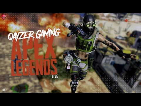 Pushing Rank Day 2 | Apex Legends LIVE - QAYZER GAMING