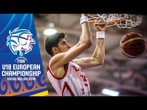 Turkey V Italy - Full Game - FIBA U18 European Championship 2019