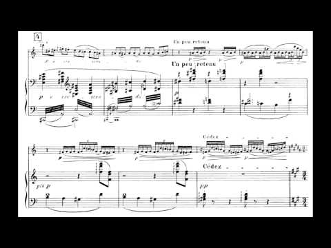 Debussy Premiere Rhapsodie for Clarinet