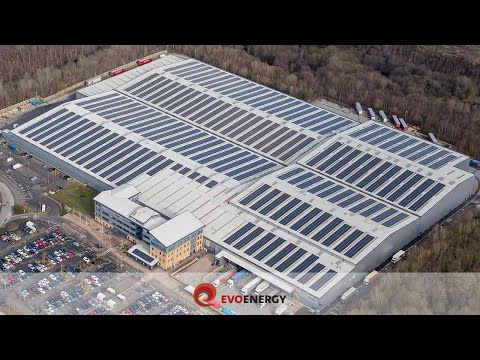 UK's 4th Largest Commercial Solar PV Rooftop Installation |