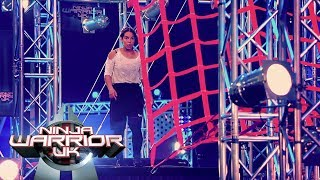 19 year old waitress Georgia Munroe impresses | Ninja Warrior UK