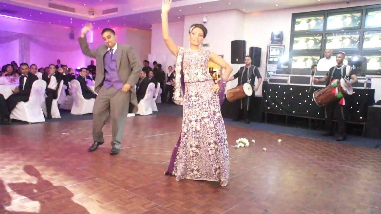 Best Surprise Indian Wedding Reception Entrance Dance K&K ...
