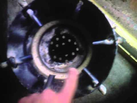VW Beetle wood gasifier build core
