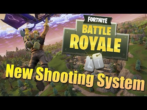 New Shooting System +  Destroying Solo Mode | Fortnite : Battle Royal Gameplay