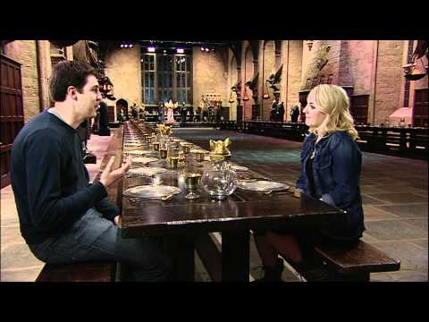Evanna Lynch Luna Lovegood  in The Great Hall @ The Harry Potter Studio Tour
