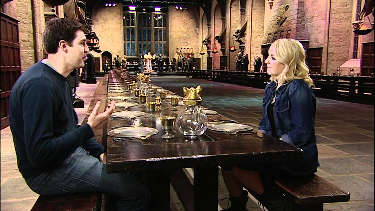 Evanna Lynch Luna Lovegood Interview In The Great Hall -9223