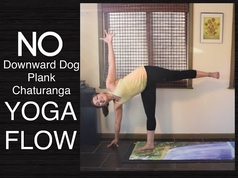 Wrist Free Hands Free Yoga Flow with Core Workout - Beginner and Intermediate
