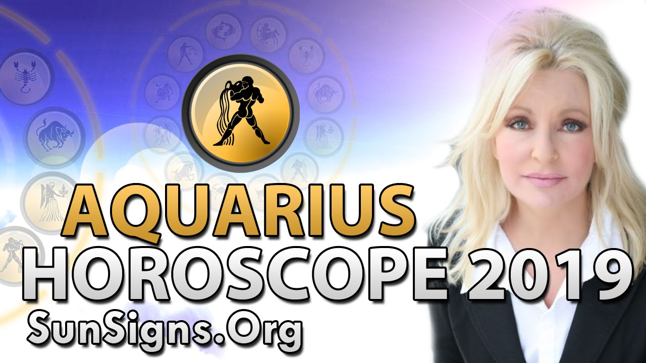 Aquarius Horoscope 2019 Predictions | SunSigns Org