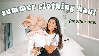 summer try on haul