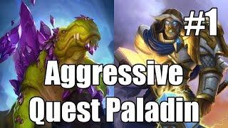[Hearthstone] Aggressive Quest Paladin (Part 1)