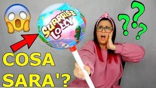 APRO LECCA LECCA GIGANTE SURPRISE LOLLY! COSA SARA' MAI?! Iolanda Sweets