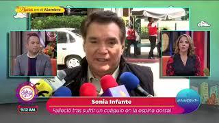 Así fueron los últimos días de Sonia Infante   Sale el Sol